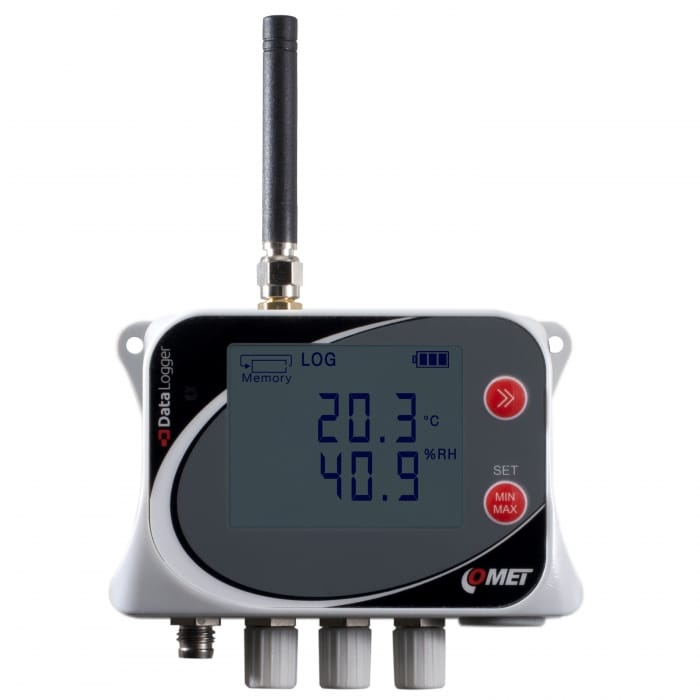 U0141M – Mobile temperature Logger (4 Channel)